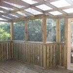 Inside the Covered Deck Renovation